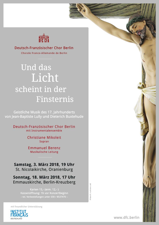 Aktuell - Deutsch-Französischer Chor Berlin